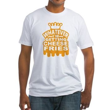 Cheese Fries Fitted T-Shirt