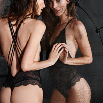Stretch Chantilly Lace Teddy - Very Sexy - Victoria's Secret