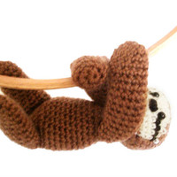 Amigurumi Pattern - Sloth - Crochet Pattern -