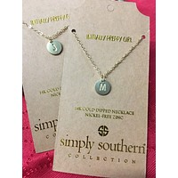 Simply Southern Initially Preppy Necklaces
