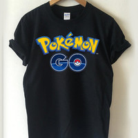 Pokemon GO Logo T-shirt Men, Women Youth and Toddler