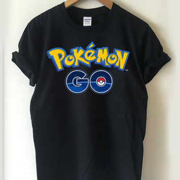 Pokemon GO Logo T-shirt Men, Women and Youth