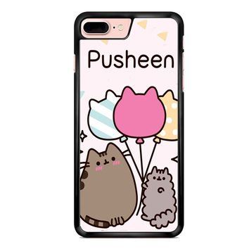 Pusheen The Cat Baloon iPhone 7 Plus Case
