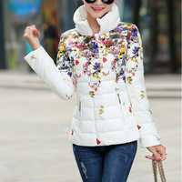 Women's Slim Cotton Padded Jacket