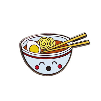 Ramen Pin - Super Kawaii Food - Enamel Pin