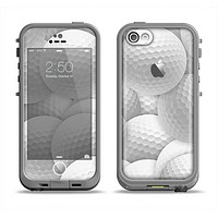 The Golf Ball Overlay Apple iPhone 5c LifeProof Fre Case Skin Set