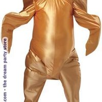 Cooked Turkey Adult Costume - Tan - One-Size (Standard)