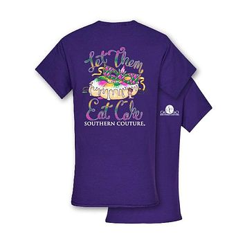 Southern Couture Preppy Let Them Eat Cake T-Shirt