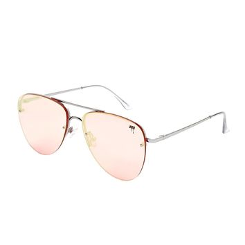 MELT Rimless Aviator Sunglasses