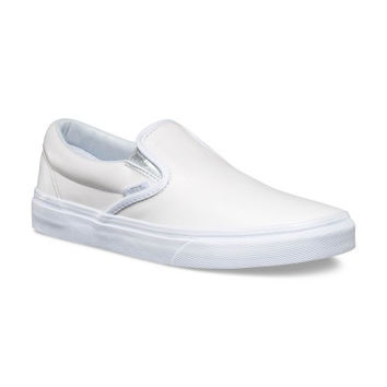 Vans Classic Slip On(Mettalic Gore)White/Silver