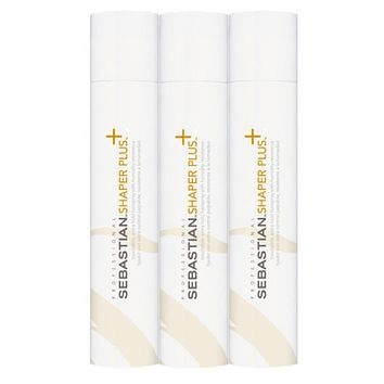 Sebastian Shaper Plus Extra Hold Hairspray 3 Pack 10.6 oz Each