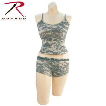 """ACU Digital """"Booty Camp"""" Booty Shorts and Tank Top Set"""