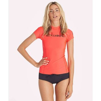 Billabong Surf Dayz Short Sleeve Women's Rashguard