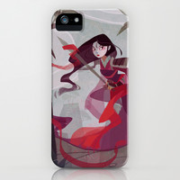 Mulan iPhone & iPod Case by Ann Marcellino