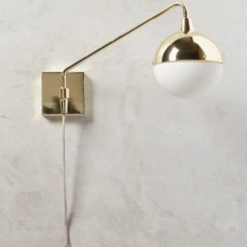 Anchored Orb One-Arm Sconce by Anthropologie