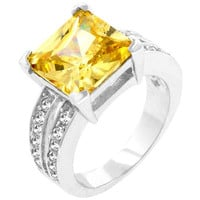 Jonquil Princess Ring, size : 09