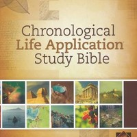 NLT Chronological Life Application Study Bible, Hardcover - on Christianbook.com