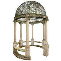 Hand-Cut Limestone Gazebo, circa 1885 Chicago