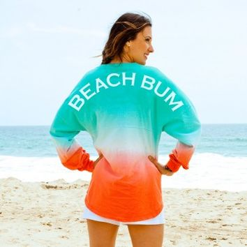 Beach Bum Tie Dye Spirit Football Jersey®