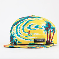 Billabong Wish You Were Here Mens Snapback Hat Yellow One Size For Men 18997964901