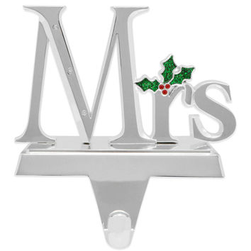 Harvey Lewis™ Mrs. Stocking Hanger Made with Crystals from Swarovski®