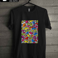 Keith Haring Pop T-SHIRT FOR MAN SHIRT,WOMEN SHIRT **