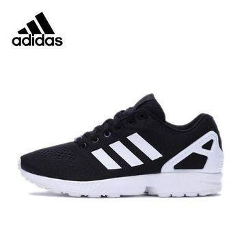 ESB9N Official New Arrival Adidas Originals ZX FLUX Men's Skateboarding Shoes Sneakers