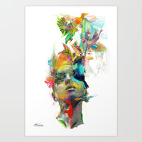 Dream Theory Art Print by Archan Nair