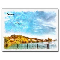 Nelson, South Island, New Zealand Postcard