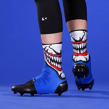 The Grin Blue Spats / Cleat Covers