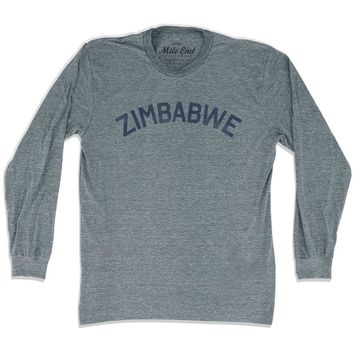 Zimbabwe City Vintage Long Sleeve T-shirt