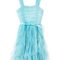BCX Girls Dress, Girls Ruffled Sparkle Dress - Kids Girls Dresses - Macy's