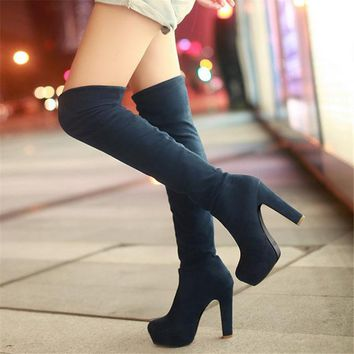 Over the Knee Boots up to Size 15 (28cm EU 46)