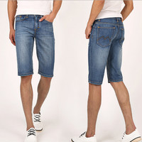 Mens Casual Denim Shorts