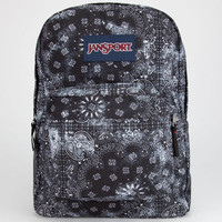 Jansport Superbreak Backpack Black Bandana One Size For Men 22382712501