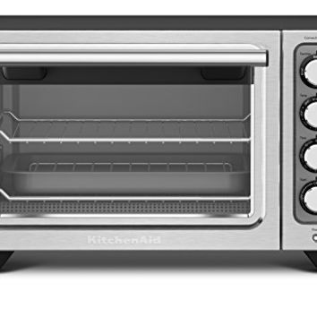 KitchenAid KCO253BM 12-Inch Compact Convection Countertop Oven - Black Matte