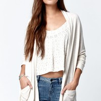 Billabong Outside The Lines Open Front Cardigan - Womens Sweater