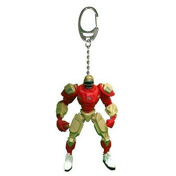 San Francisco 49ers Keychain Fox Robot 3 Inch Mini Cleats