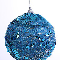 "3"" Blue Fiesta Ball - Set of 3"
