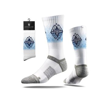 Strideline® 2.0 MLS Vancouver Whitecaps FC White Crew Socks