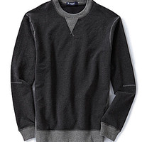 Cremieux Long-Sleeve Active Sweatshirt - Charcoal Heather