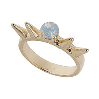 Opal Spike Ring - Topshop