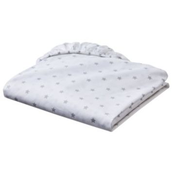 Circo Organic Fitted Crib Sheet - Stars