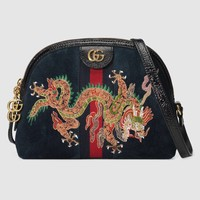 Gucci Ophidia embroidered small shoulder bag