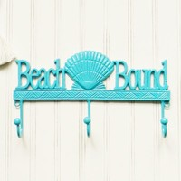 Beach Bound Wall Hook - Choose Your Color - Colorful Cast and Crew