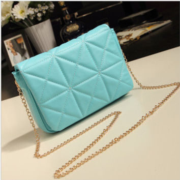 Fashion Chain Bags One Shoulder Stylish Messenger Bags [6582007815]