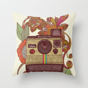 Out of sight! Throw Pillow by Valentina Harper