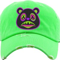 80s Baws Neon Green Dad Hat