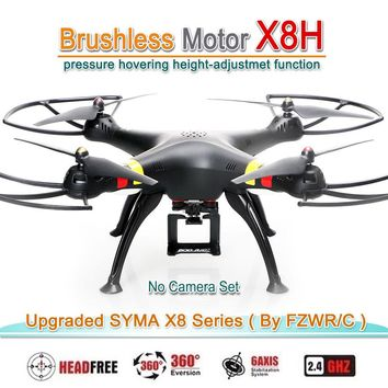 FZWRC X8H Brushless Motor RC Quadcopter Upgraded By SYMA X8C X8W X8G X8HC X8HW X8HG Drone Helicopter with WIFI or No Camera