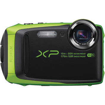 Fujifilm 16.0 Megapixel Finepix Xp90 Digital Camera (lime)